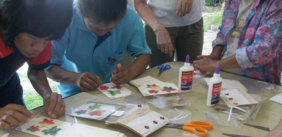 Aids Care Handicraft Project
